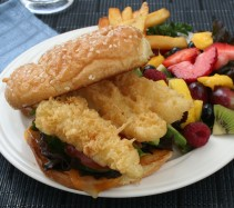 Beer Battered Fish Sandwich