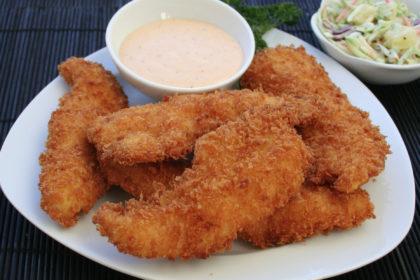 Panko Chicken Fingers