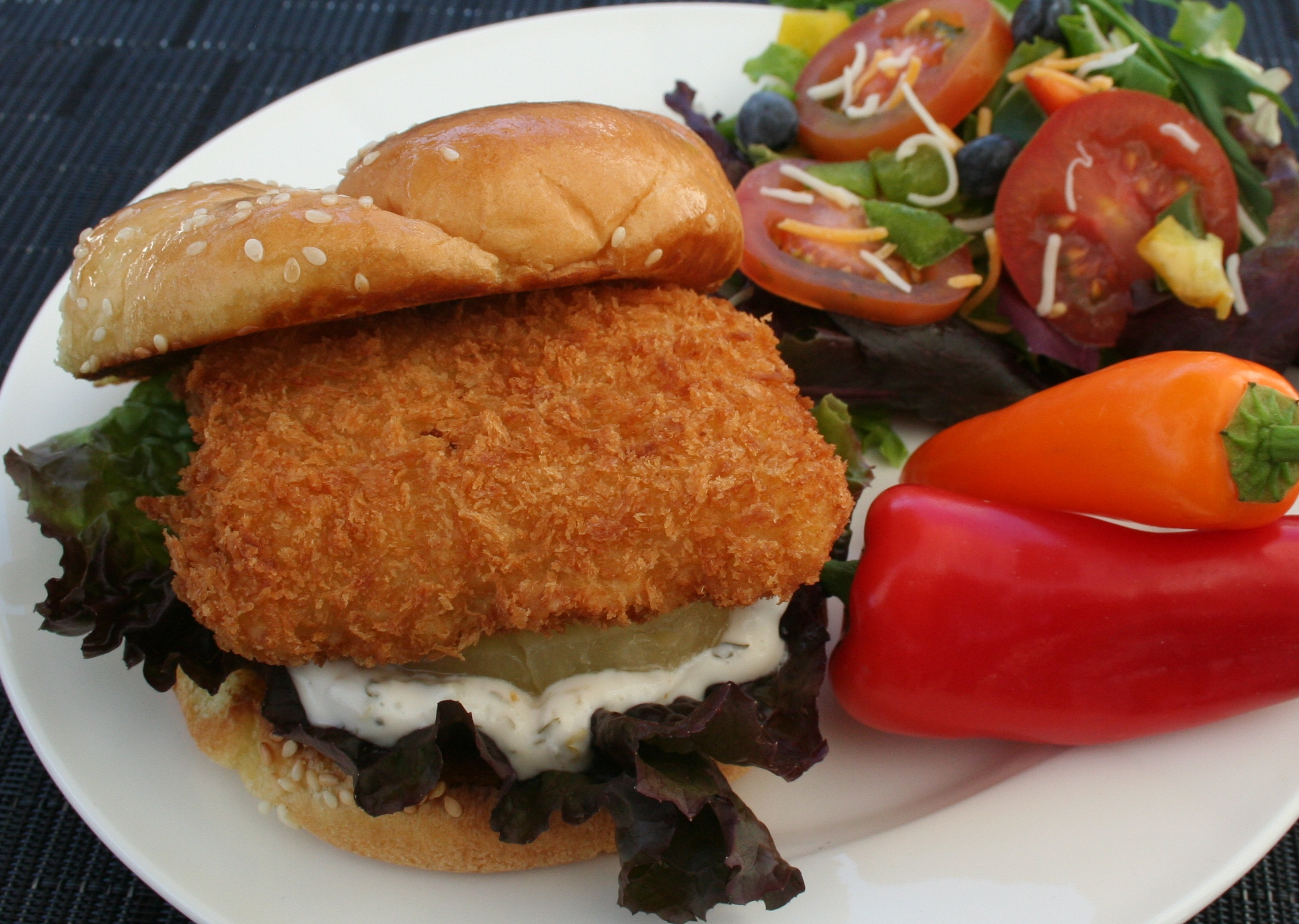 how to make fish sandwich