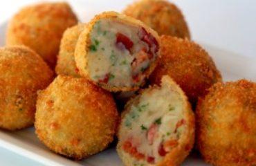 Fine grind panko Potato Croquettes