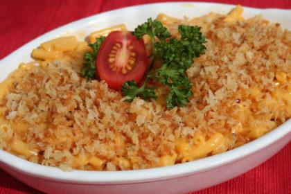 Panko Topped Mac & Cheese