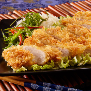 Pork Tonkatsu with 01916 Nama Panko