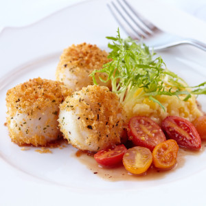 Baked Scallops