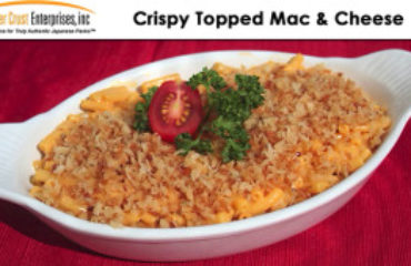 Panko Topped Mac-n-Cheese