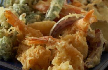 Authentic tempura batter