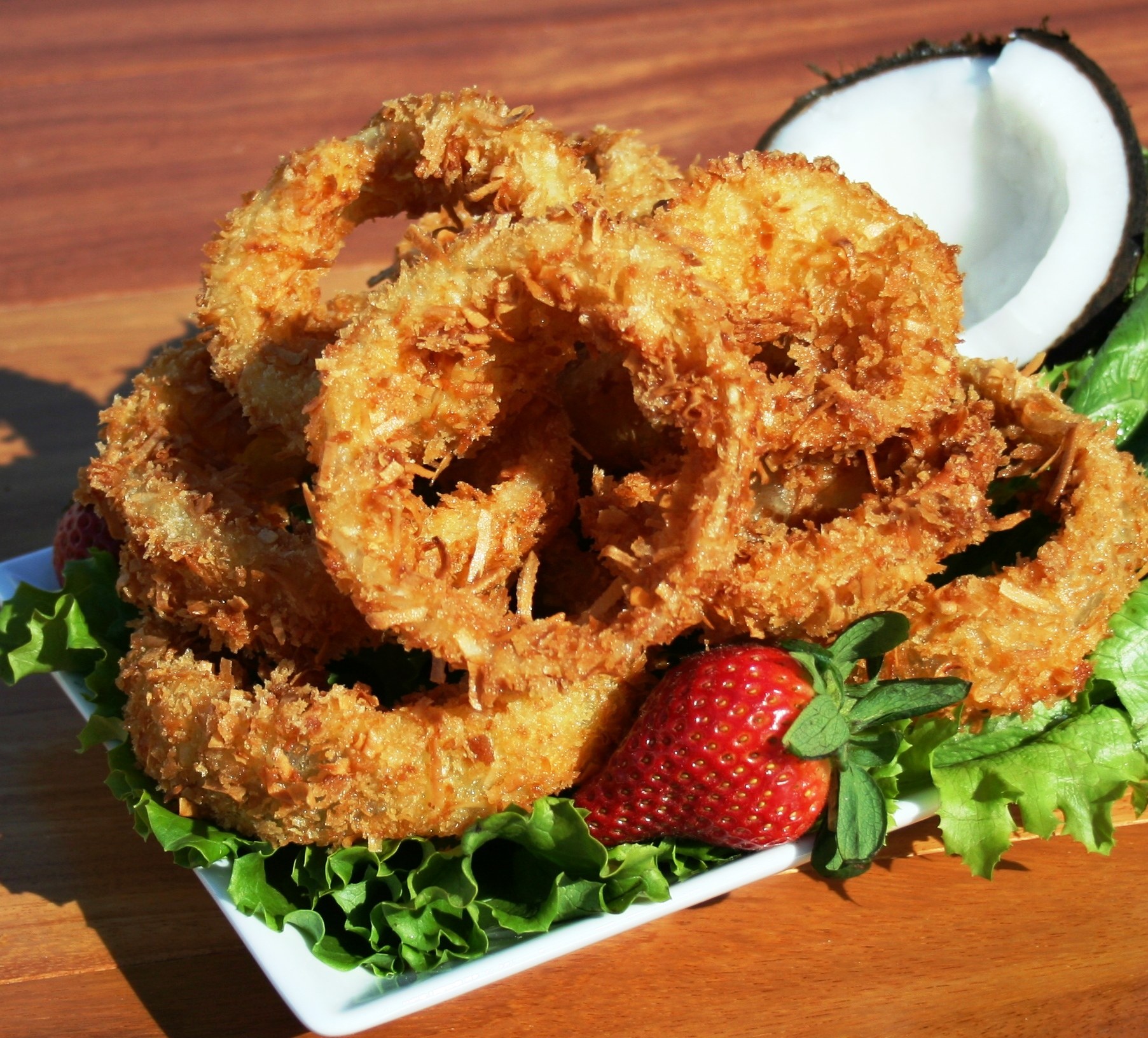 Coconut Onion Rings
