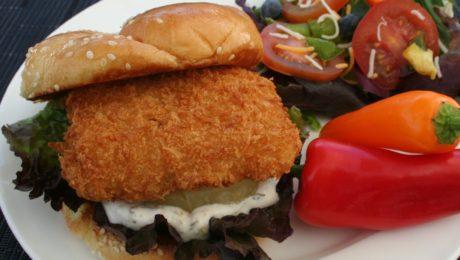 Panko Fish Sandwich
