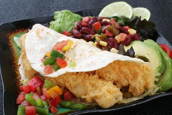 Tempura Fish Tacos
