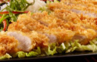 Pork Tonkatsu with Nama Panko