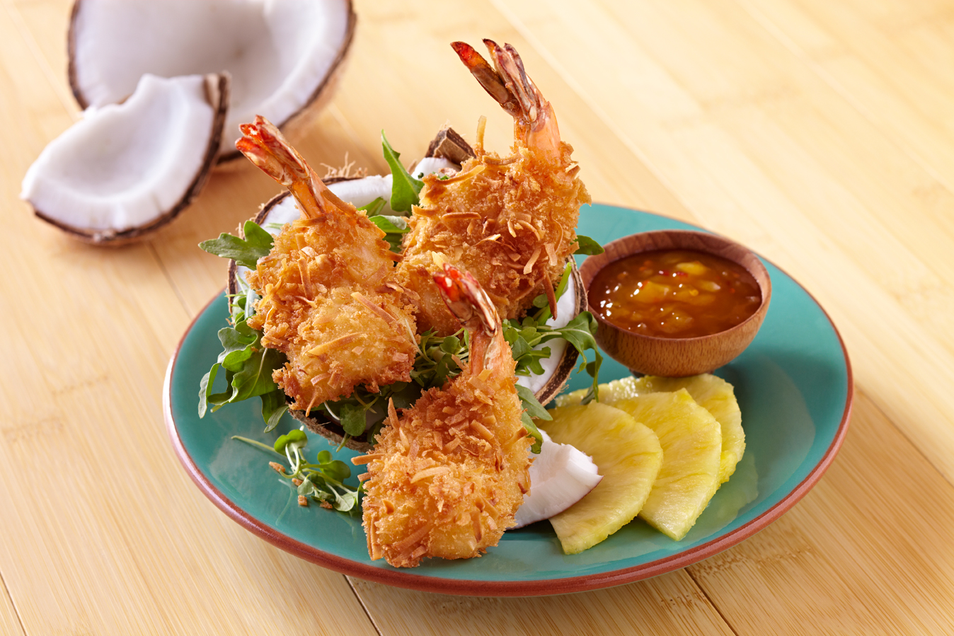 Caribbean Coconut Shrimp