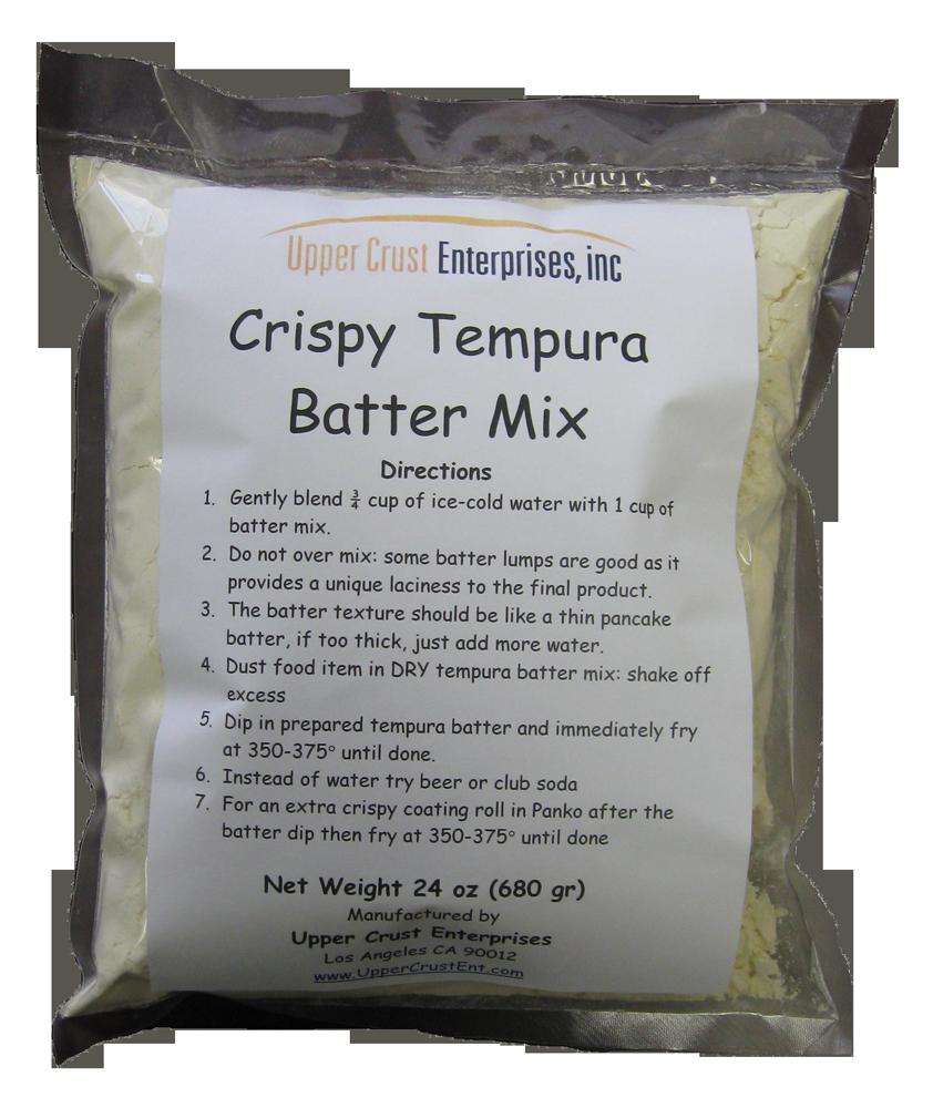 Crispy Tempura Batter Mix Retail Package 24oz
