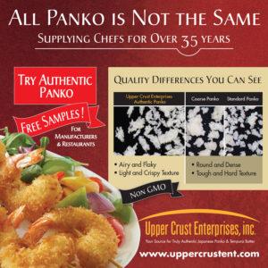 Panko adds texture