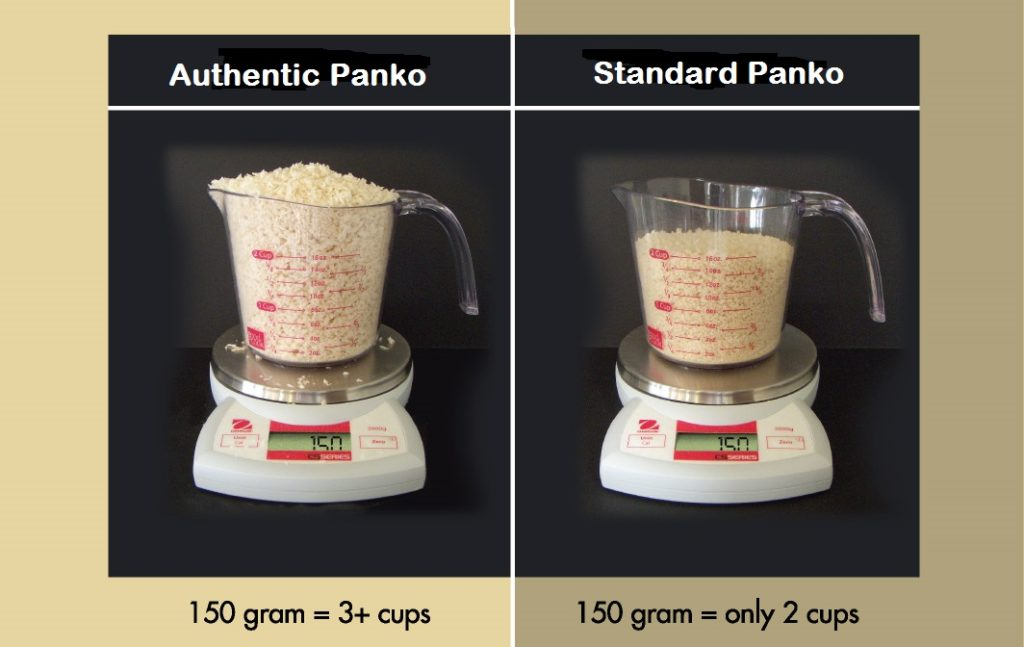 Authentic Panko vs Standard Panko